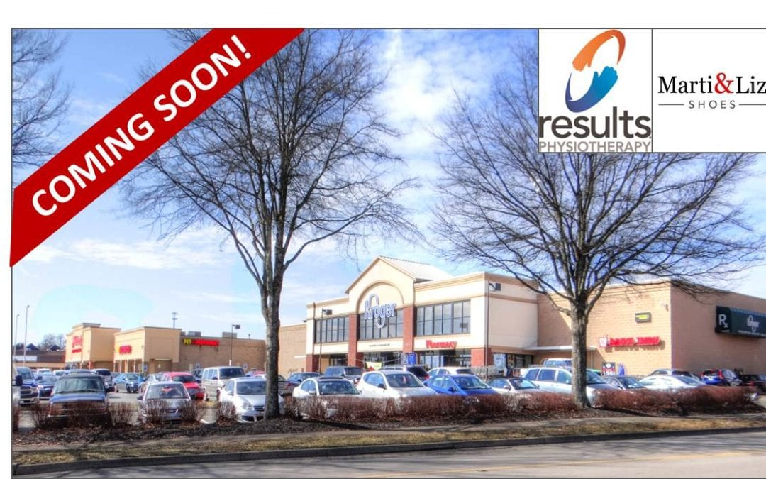 NAI Isaac Brings Results Physiotherapy and Marti & Liz Shoes to Regency Centre in Lexington, Kentucky